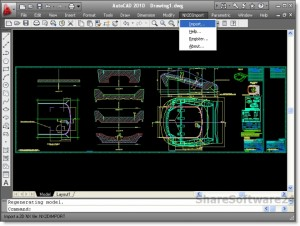 NX 2D Import for AutoCAD