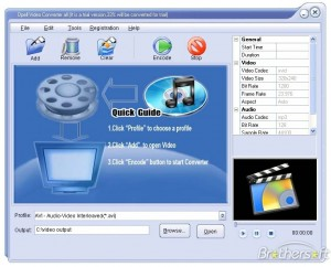 Opell Video to ASF WMV Converter