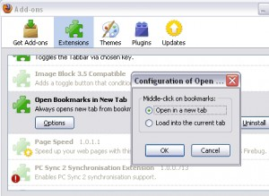 Open Bookmarks in New Tab