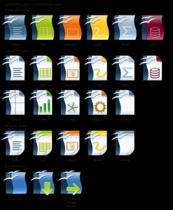 Open Office Icons