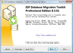 Oracle Migration Toolkit