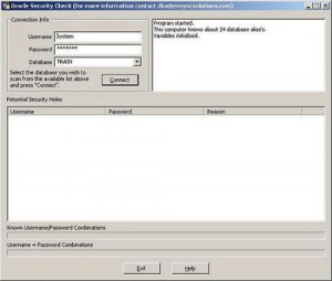 Oracle Security Check