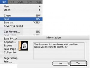 OverflowXTerminator for QuarkXPress 6.x