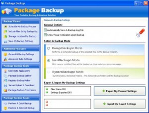Package Backup For U3
