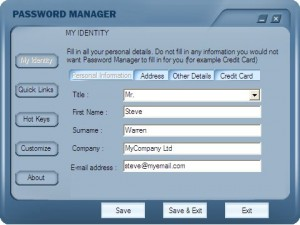 Passwd Manager