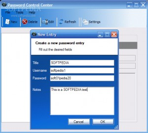 Password Control Center