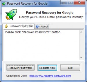 Password Recovery for Google (formerly Gmail Password Recovery)