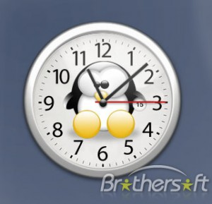Penguin Analog Clock