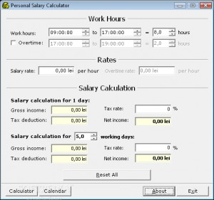 Marvelous Personal Salary Calculator Regard To Salary Calculator