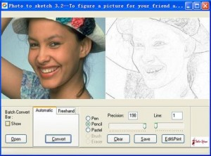 Photo To Sketch Converter Software