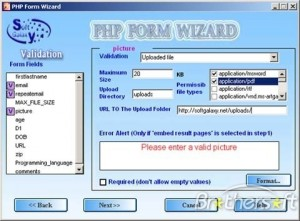 PHP FormWizard