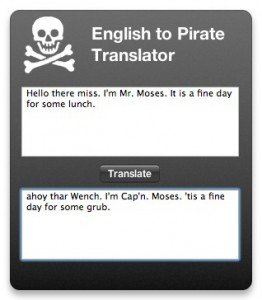 Pirate Translator