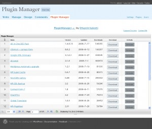 PLUG-IN Manager