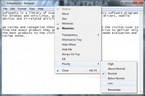 Portable PMW (Process Manager for Windows)