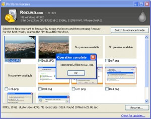 Drive data download pen recovery with free software key