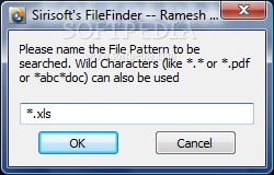 Portable SiriSoft FileFinder
