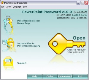 PowerPoint Password