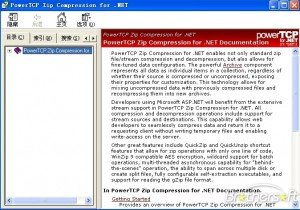 PowerTCP Zip Compression Tool