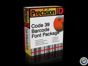 PrecisionID Code 3 of 9 Barcode Fonts