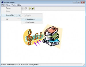 PSS File Viewer