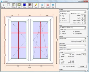 PVC Windows Designer