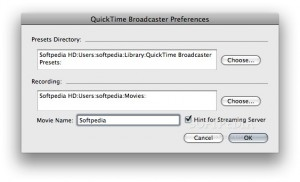 QuickTime Broadcaster X