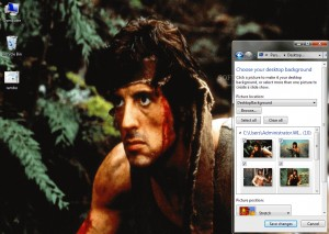 Rambo Windows 7 Theme