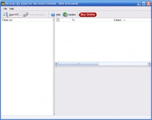 Recover My Email for Microsoft Outlook