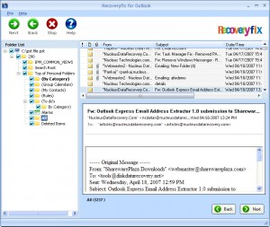 RecoveryFIX for Outlook
