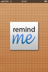 Remind Me In