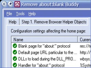 Remove about:blank Buddy