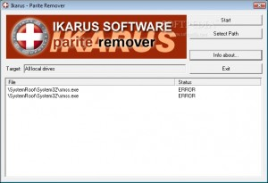 Remover for Win32.Parite-A,B,C