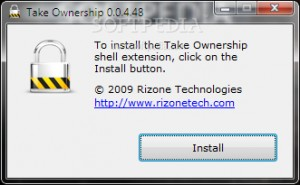Rizone Take Ownership Shell Extension