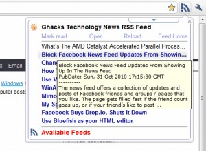 RSS Live Links