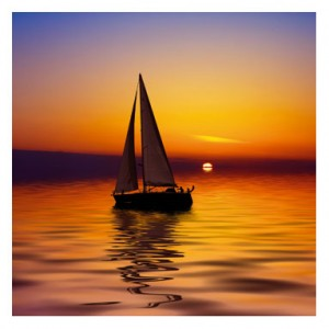 Sailing In To The Sunset