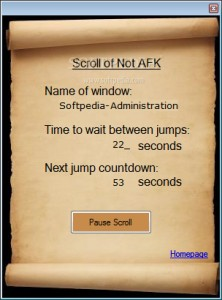 Scroll of Not AFK