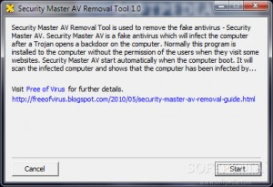 Security Master AV Removal Tool