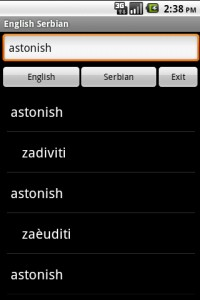 Serbian Dictionary