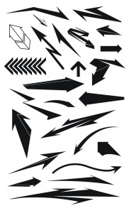 Shapes Pack 1 'Arrows'