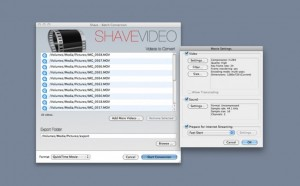 Shave Video