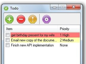 Simple To Do List Software