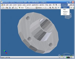 SKP Import for Inventor