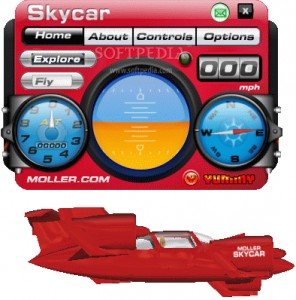 SkyCar 3D Desktop Toy