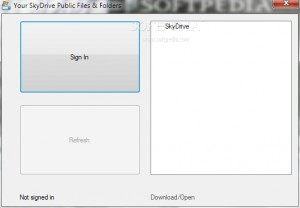 SkyDrive Viewer