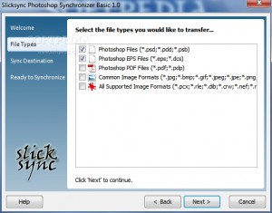 Slicksync Photoshop Synchronizer Basic