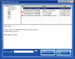 Smart Email Recovery