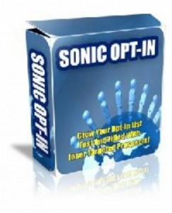 Sonic Opt-In