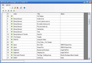 Sony MP3 Manager .NET
