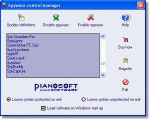 Spyware Control Manager