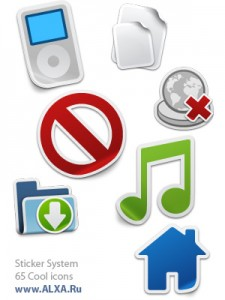Sticker System Icons